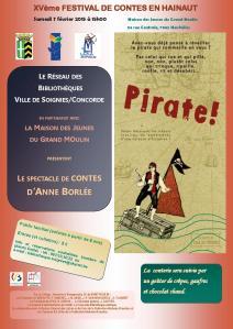 Affiche contes Pirate!